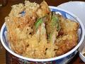 芦ノ湖天丼 芦ノ湖でとれる魚などで作った天丼:芦ノ湖丼