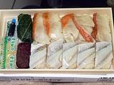 小田原 東華軒 押し寿司 炙り金目鯛とあじの押し寿司