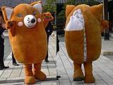 豊川稲荷にあやかって。町おこしのいなり寿司食べ歩き。