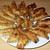 夜の餃子。福島の円盤餃子「照井」と「石狩」食べ比べ。
