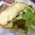博多の台所。柳橋連合市場の柳橋バーガーは買い食いにマル。
