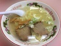 函館ラーメン鳳蘭の函館塩ラーメン