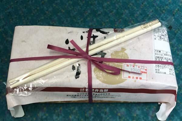 飯田線に乗る前に。豊橋で豊川のいなり寿司弁当を買っちゃう♪