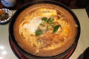 田むら銀かつ亭の豆腐のかつ煮