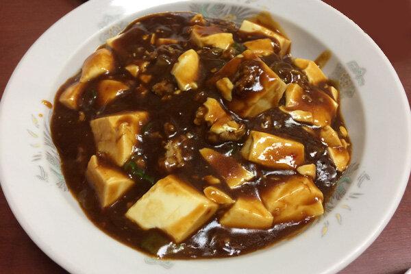 仙台の中華食堂 泰陽楼の麻婆焼きそば