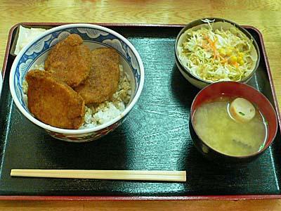 福井 小川家 ソースカツ丼定食