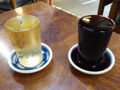 石和温泉 三角屋のブドー酒 赤、白