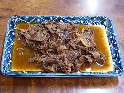 石和温泉 三角屋 肉皿
