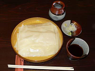 群馬 桐生 ふる川 ひもかわ つけ麺