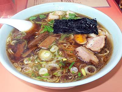 味の大西 ワンタン麺 小田原