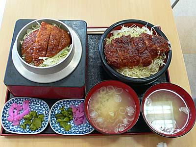 今田屋 ソースカツ丼 極厚 極薄